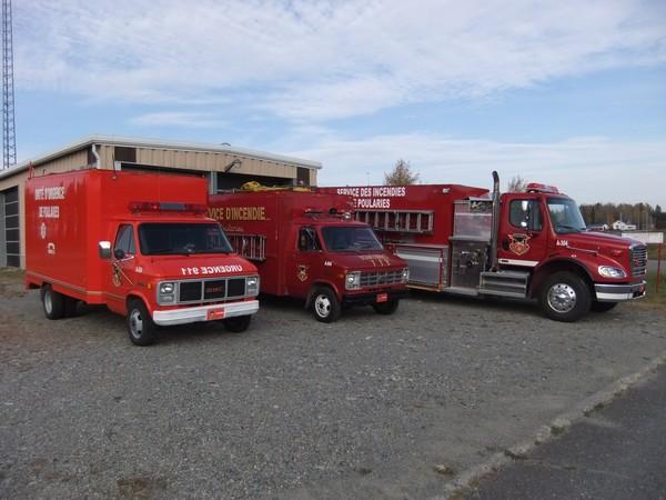 Le service des incendies